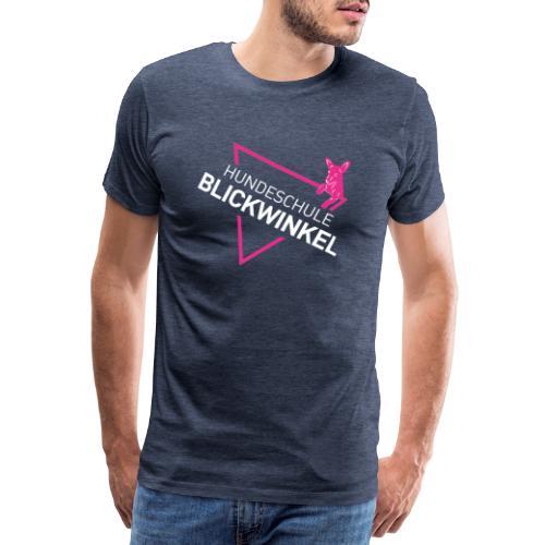WHITE & PINK - Männer Premium T-Shirt