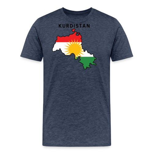 Kurdistan - Premium-T-shirt herr