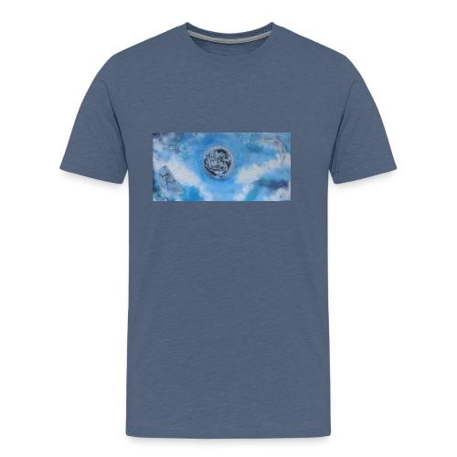 La lune dans tous ses etats - T-shirt Premium Homme