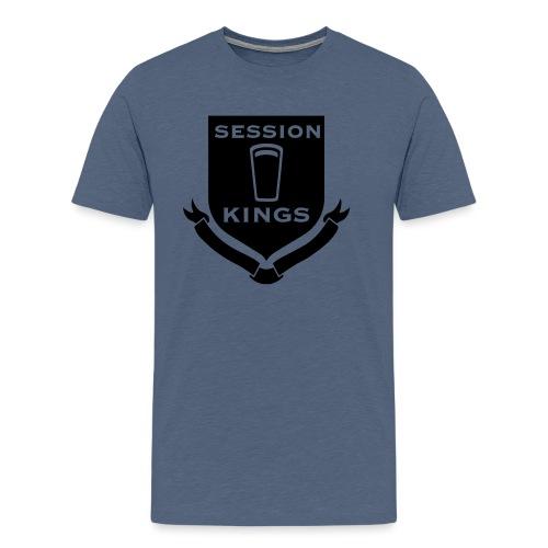 session-king-small - Men's Premium T-Shirt