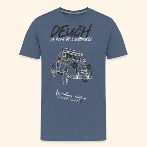 2CV Drawn - T-shirt Premium Homme