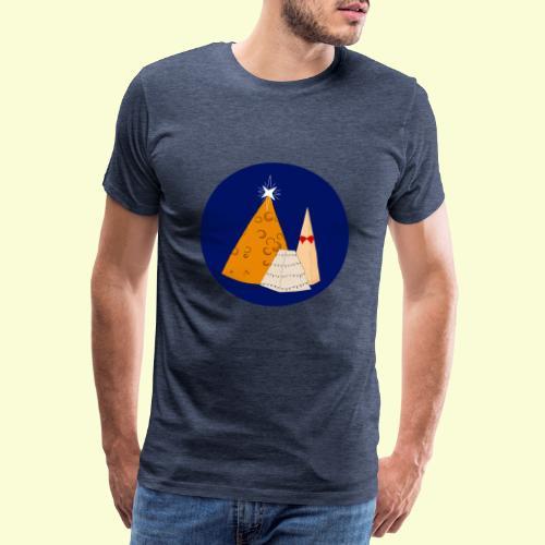Xmas Cheese - T-shirt Premium Homme