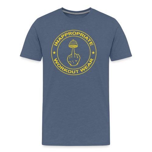 It's called WORKout - Men's Premium T-Shirt