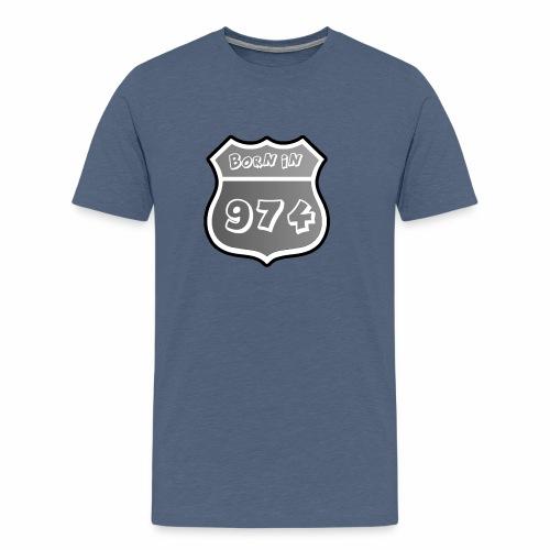 Route 974 - T-shirt Premium Homme