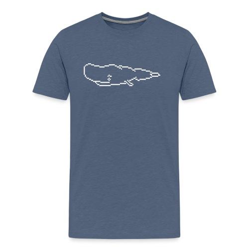 Pottwal 0PD17 - Männer Premium T-Shirt