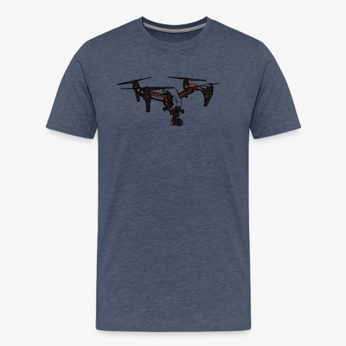 inspire-007 | for real dronRs - Männer Premium T-Shirt