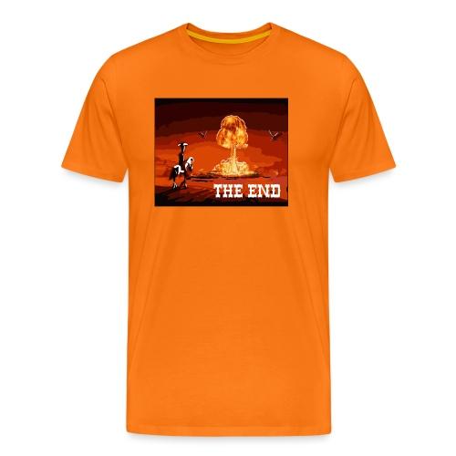 THE END (version 2 : pour toute couleur de fond) - T-shirt Premium Homme
