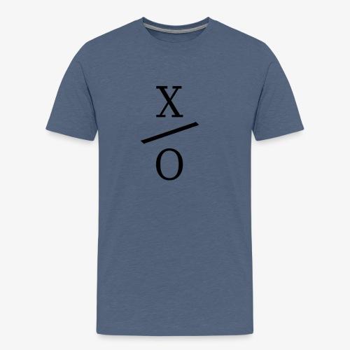 X/0 Logo - Premium-T-shirt herr