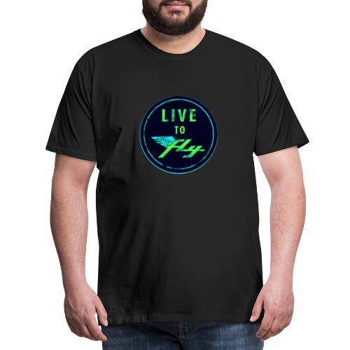 LIVE TO FLY - T-shirt Premium Homme