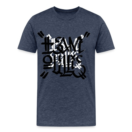 teamoullie logo white - Mannen Premium T-shirt