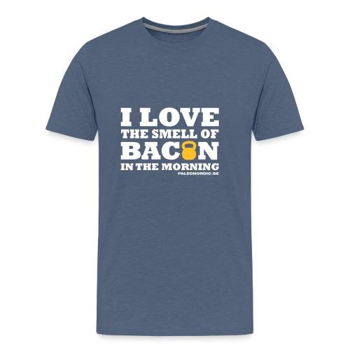 baconlogo - Premium-T-shirt herr