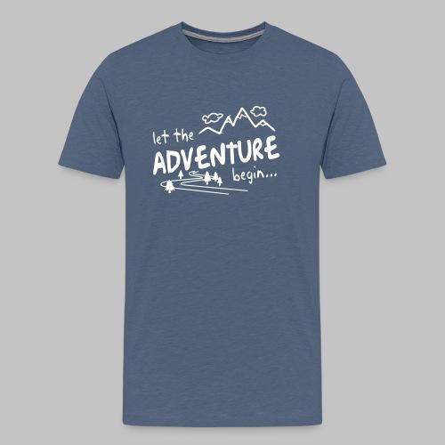 Let the Adventure begin - Men's Premium T-Shirt