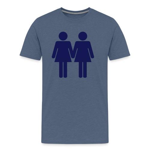 two_women_orig - Männer Premium T-Shirt