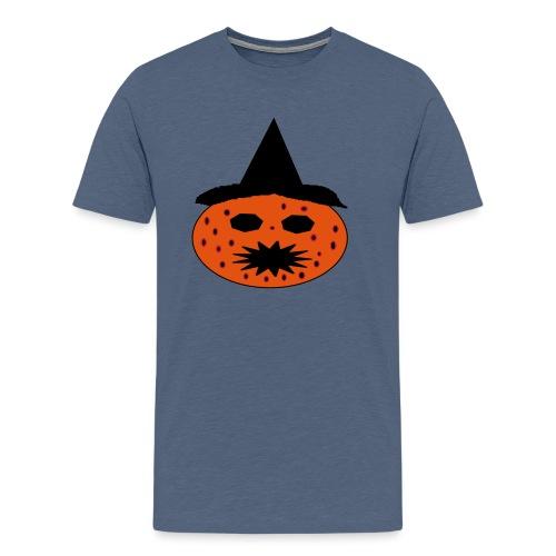 citrouille malade - T-shirt Premium Homme
