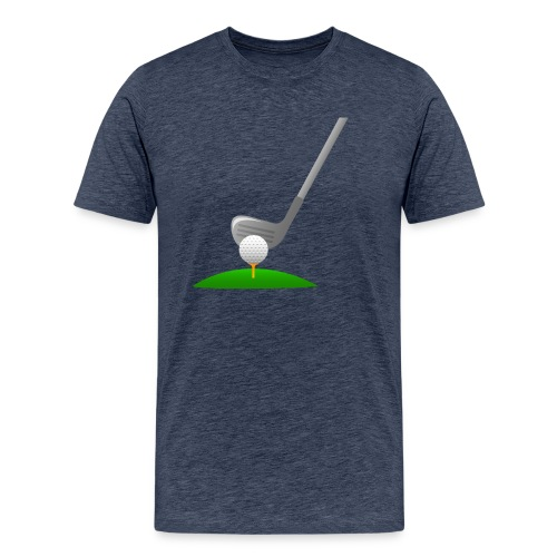 Golf Ball PNG - Camiseta premium hombre