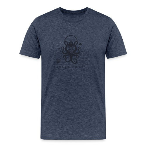 Shirt Blue png - Men's Premium T-Shirt