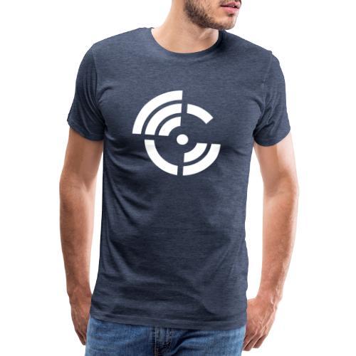 electroradio.fm logo - Männer Premium T-Shirt