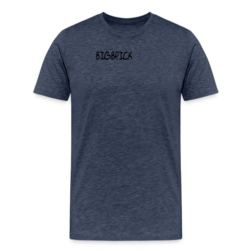 BIGBRICK Text - Männer Premium T-Shirt