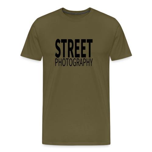 Street photography Black - Maglietta Premium da uomo