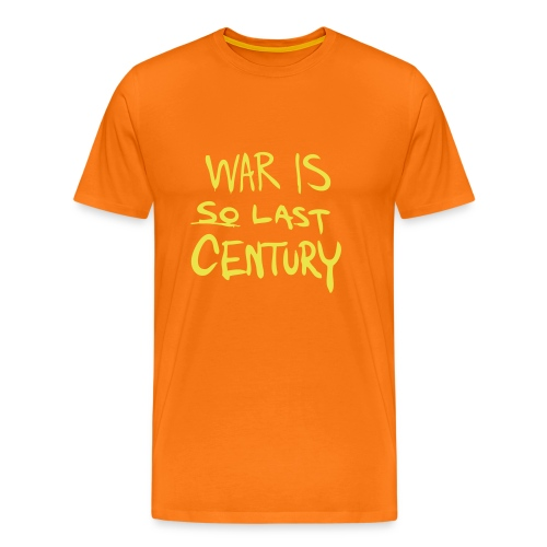 War is SO last Century - Men's Premium T-Shirt