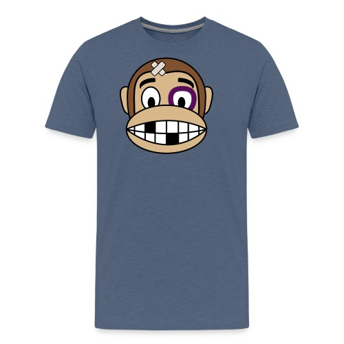Bruised Monkey - Men's Premium T-Shirt