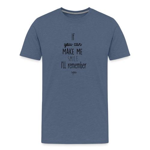 Mug en céramique Gröner Citation anglaise - T-shirt Premium Homme