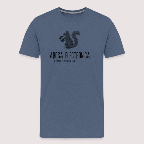 Family Mitglied Arosa Electronica - Männer Premium T-Shirt
