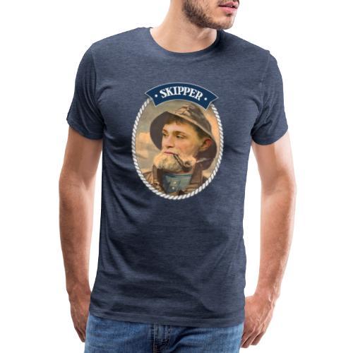 Skipper - Premium-T-shirt herr
