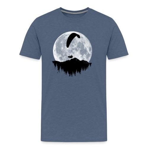 Paralgeiter im Vollmond - Männer Premium T-Shirt
