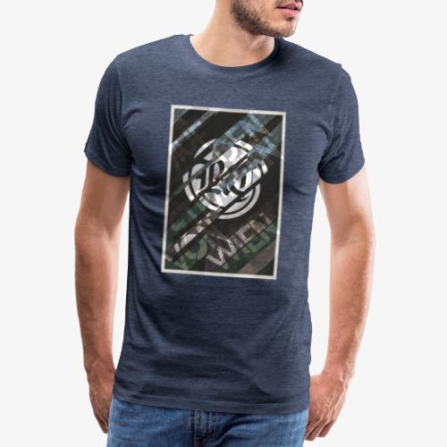 Auf den Strassen von Wien - Männer Premium T-Shirt