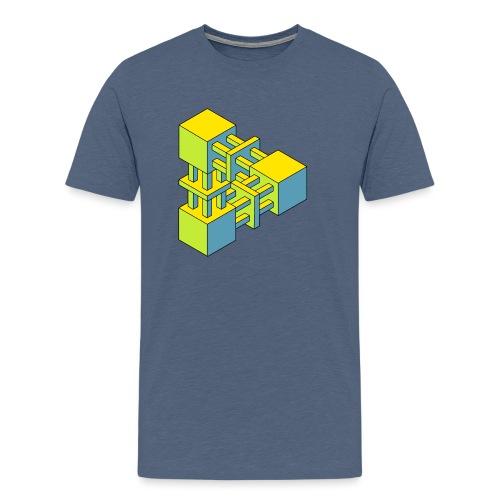 Tribar 015 - Männer Premium T-Shirt