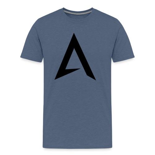 alpharock A logo - Men's Premium T-Shirt