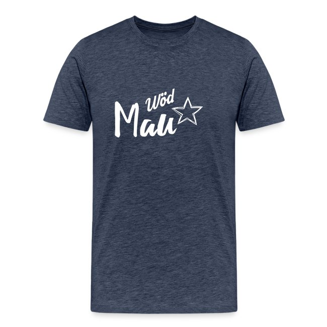 Vorschau: Wöd Mau - Männer Premium T-Shirt