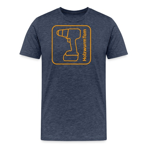 HolzwurmTom Logo - Männer Premium T-Shirt