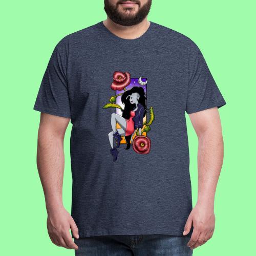 Chica vampiro - Camiseta premium hombre