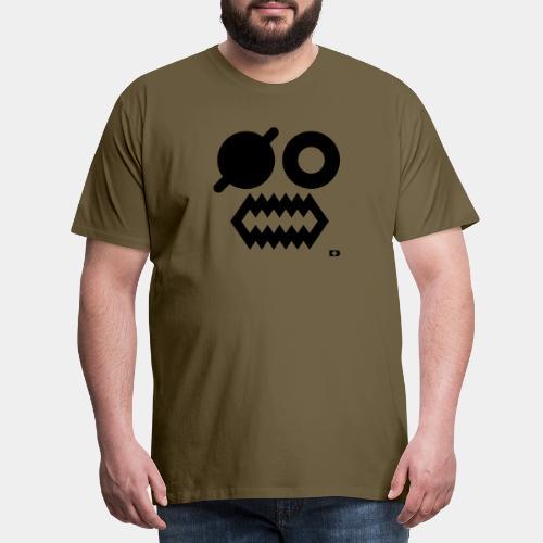 A-054 Smiley Pirat - Männer Premium T-Shirt
