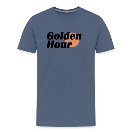Golden Hour logo - Men's Premium T-Shirt