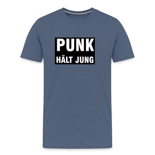 Punk hält jung - Männer Premium T-Shirt