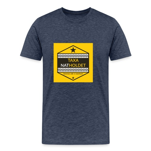 Taxa Natholdet Logo - Herre premium T-shirt