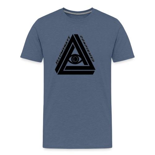 The Illuminati Transparent png - Men's Premium T-Shirt