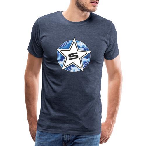 Camo Edition blue - Männer Premium T-Shirt