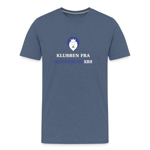 Klubben fra vidunderlige KBH - Herre premium T-shirt