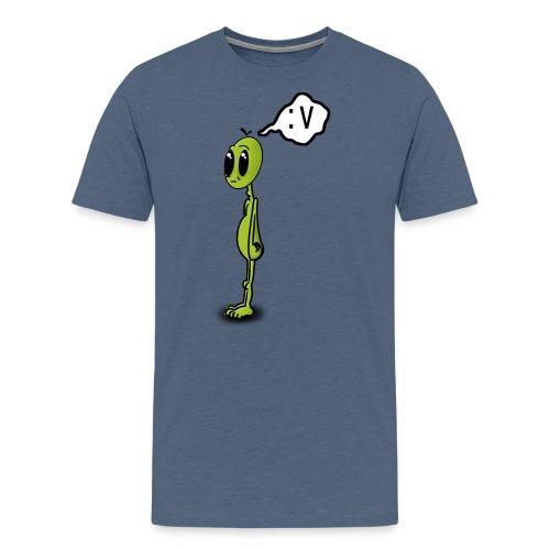 Alien :v - Camiseta premium hombre