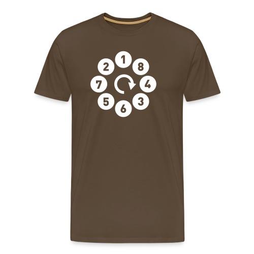 v8firing01b - Premium T-skjorte for menn