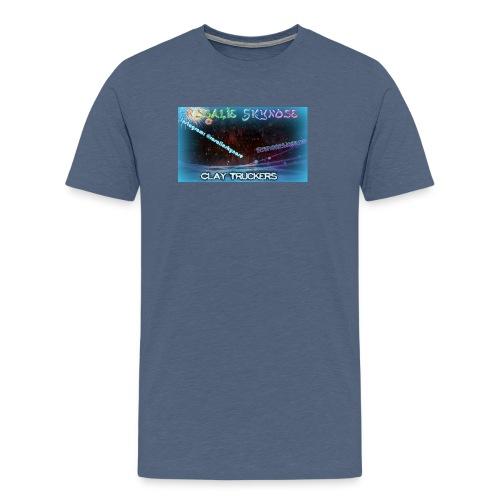 Rosa jpg - Premium T-skjorte for menn