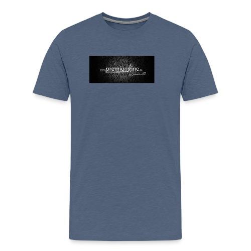 ohnerand02 jpg - Männer Premium T-Shirt