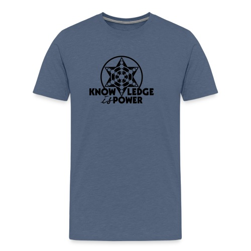 Knowledge is power - T-shirt Premium Homme