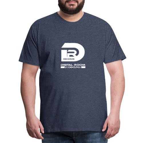 Digital Room Records Official Logo white - Men's Premium T-Shirt
