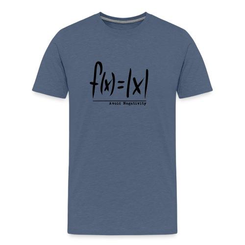 f(x)=|x| - Männer Premium T-Shirt