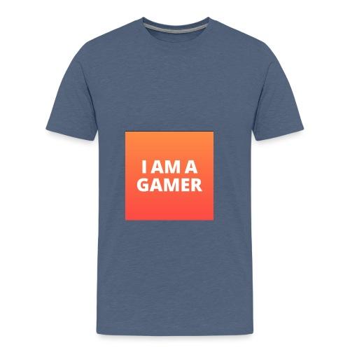 I AM A GAMER FASHION ACCESORIES - Men's Premium T-Shirt